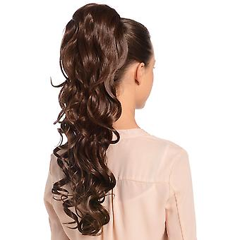 Molly Long Curl Drawstring Ponytail