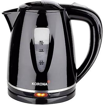 Kettle cordless Korona 1L Wasserkocher Black