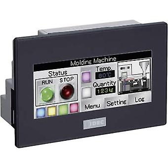PLC touch panel with built-in control Idec SmartAXIS Touch FT1A-C12RA-B