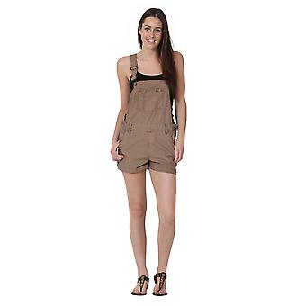 USKEES ANNA Oversized Dungaree Shorts Loose Fit Short Bib overalls