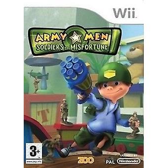 De soldaten van de mannen van het leger van ongeluk (Wii)