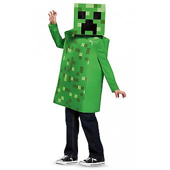 Creeper Mojan Minecraft Hostile Mobs Video Game Fancy Dress Up Boys Costume