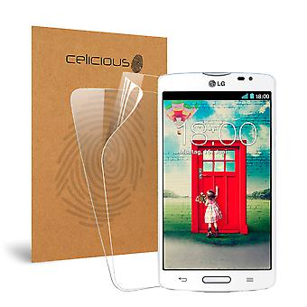 Celicious Vivid Invisible Glossy HD Screen Protector Film Compatible with LG L80 [Pack of 2]
