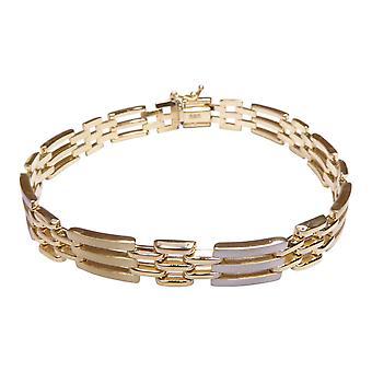 14 Karat bicolor bracelet