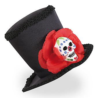 Mini cylinder Mexico skull Halloween