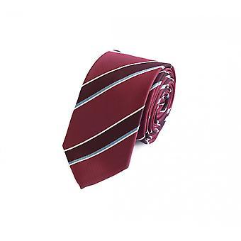 Tie slips tie slips 6cm vin röd vit blå randig Fabio Farini