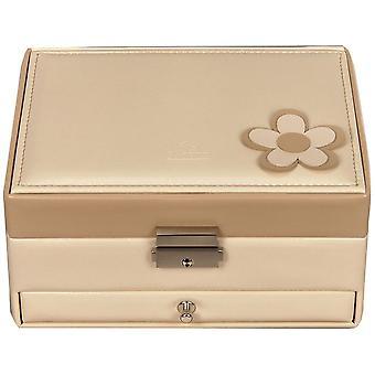 Sacher jewellery box cream beige Castle mirror jewelry box BELLA FIORE