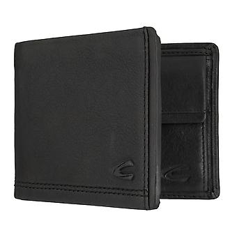 Camel active mens wallet wallet purse with RFID-chip protection black 7295