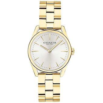 Coach Womens Modern Luxury Gold Tone Bracelet 14503208 Watch