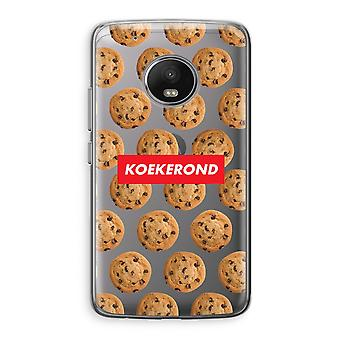 Motorola Moto G5 Transparent Case (Soft) - Koekerond