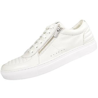 Hugo Boss Footwear Futurism_tenn All White Leather Trainer