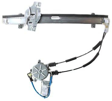 TYC 660007-G Kia Front Passenger Side Replacement Power Window Regulator Assembly with Motor