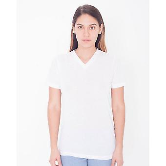 American Apparel Womens/Ladies Sublimation V Neck T-Shirt