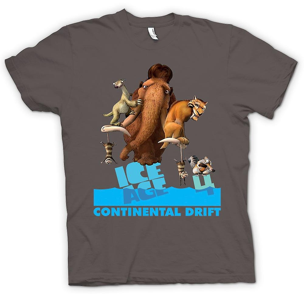 Womens T-shirt - Ice Age - Continental Drift