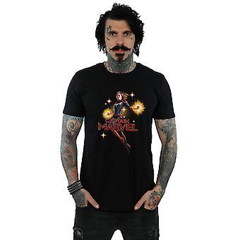 Marvel Men's Captain Marvel Carol Danvers T-Shirt