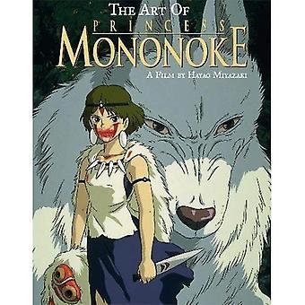 A arte da Princesa Mononoke