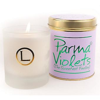 Lily Flame Scented Glassware Candle - Parma Violets