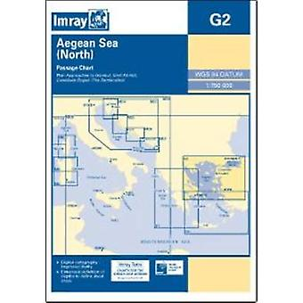 Imray Chart G2 - Aegean Sea (North) by Imray - 9781846235627 Book