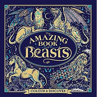 The Amazing Book of Beasts - Colour and Discover by The Amazing Book o