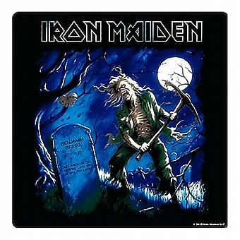 Iron Maiden Benjamin Breeg drinks mat / coaster (ro)