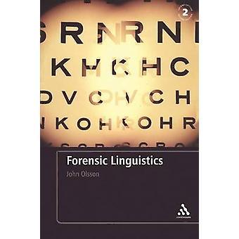 Retsmedicinske lingvistik af Olsson & John