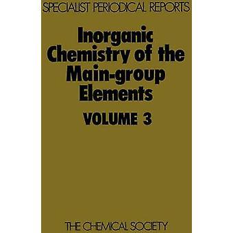 Anorganische chemie van de MainGroup elementen deel 3 door Addison & C C