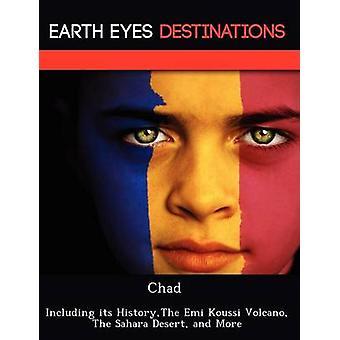 Tsjaad, met inbegrip van haar HistoryThe Emi Koussi vulkaan de Saharawoestijn en meer door Browning & Renee