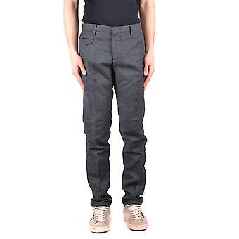 Incotex Grey Wool Pants