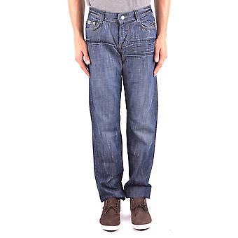 John Richmond Blue Cotton Jeans