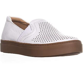 Naturalizer Womens Carly Leather Low Top Slip On Fashion Sneakers