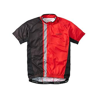 Madison Flame Red-Black 2016 Tour Short Sleeved Cycling Jersey