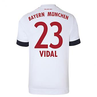 2015-16 Bayern Munich Away Shirt (Vidal 23) - Kids