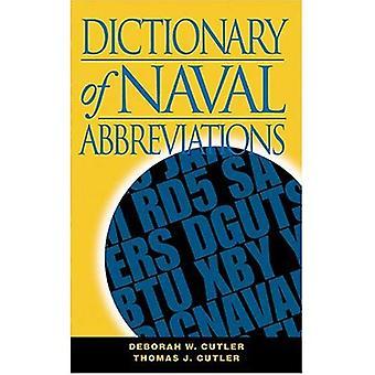 Dictionary of Naval Abbreviations (U.) (U.S.N.I. Blue & Gold Professional Library)