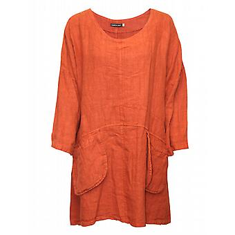 Waooh winter flax tunic women's sleeve 3/4