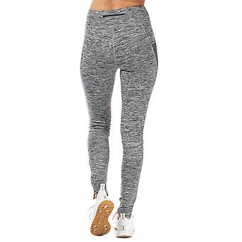 Womens Slazenger Estelle Leggings In Charcoal Space Dye