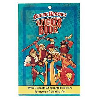 Sticker Book Super Heroes - 9781432116644 Book