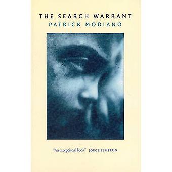 The Search Warrant - Dora Bruder by Patrick Modiano - 9781846553615 Bo