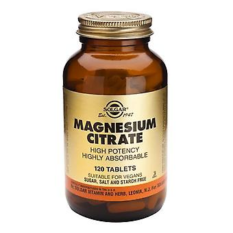 Solgar Magnesium Citrate Tablets , 120