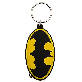 Batman logo nyckel ring