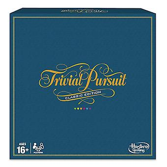 Hasbro Gaming C1940 Trivial Pursuit Classic Edition Board Game