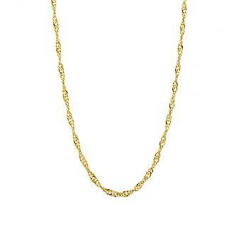 Eternity 9ct Gold 18'' Singapore Chain