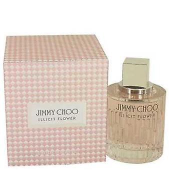 Jimmy Choo Illicit Flower By Jimmy Choo Eau De Toilette Spray 3.3 Oz (women) V728-534531