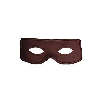 Smiffy's Black Bandit Zorro Face Mask Fancy Dress Costume