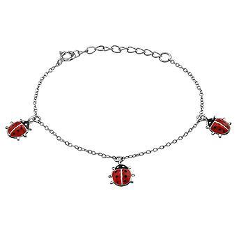 Ladybug - 925 Sterling Silver Bracelets - W38478X