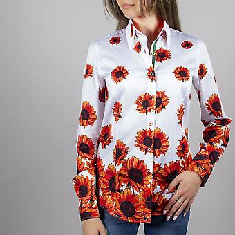 Chemise Claudio Lugli Sunflower Print Ladies