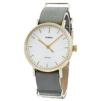 Timex Weekender Fairfield Indiglo Quartz Tw2p98500 Unisex Watch