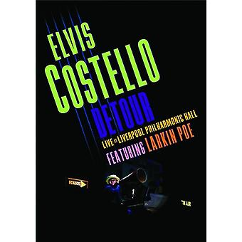 Elvis Costello - détour Live at importation USA Liverpool Philharmonic Hall [DVD]