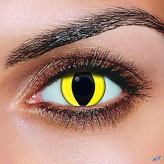 Yellow Cat Contact lenses (Pairs)