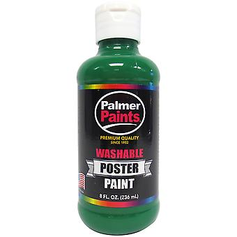 Washable Poster Paint 8oz-Green WP8OZ-586