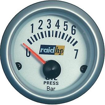 raid hp 660219 Oil pressure Gauge 0 - 7bar 12V